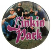 Linkin Park - 'Group' Button Badge